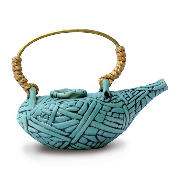 Teapot – Weaved Threads
