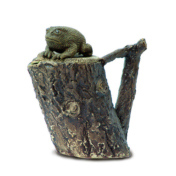 Teapot – Frog on a Log