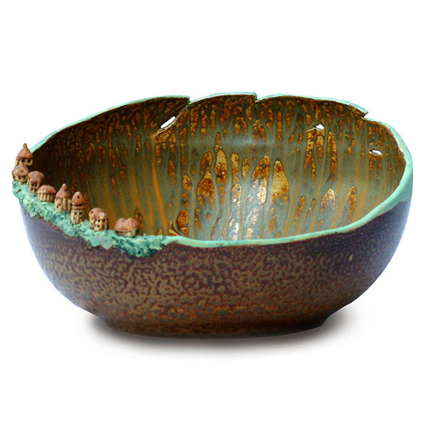 Bowl – Village by the Crater