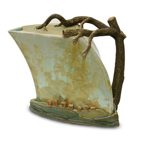 Teapot – Village by the Tree